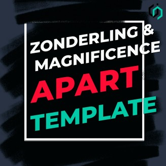 TEMPLATE #19 Zonderling & Magnificence - Apart
