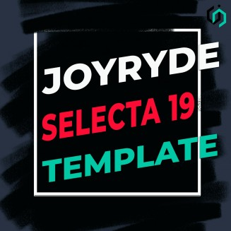 TEMPLATE #15. HOW TO MAKE JOYRIDE - SELECTA 19