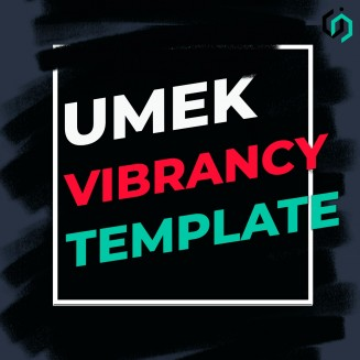 TEMPLATE #7 [FREE]. HOW TO MAKE UMEK - VIBRANCY