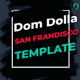 TEMPLATE #8 [FREE]. HOW TO MAKE DOM DOLLA - SAN FRANDISCO