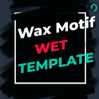 HOW TO MAKE WAX MOTIF - WET