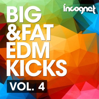 Incognet Big & Fat EDM Kicks Vol.4