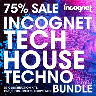 Incognet Tech House & Techno Bundle 75% Sale
