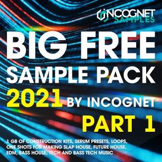 BIG FREE SAMPLE PACK 2021 By INCOGNET. PART 1