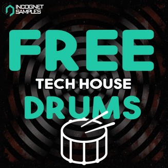 Incognet Samples - Free Tech House Drums